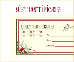 Free Voucher Template Word Template Printable Christmas Voucher Template 8