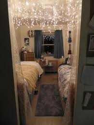 dorm room lighting ideas. icicle lights on deck ceiling and remember to buy them after christmas sale dorm room lighting ideas r