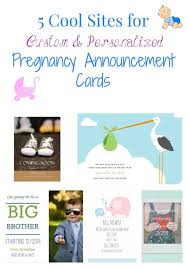 Free Pregnancy Announcement Templates 5 Cool Sites For Custom Personalized Pregnancy