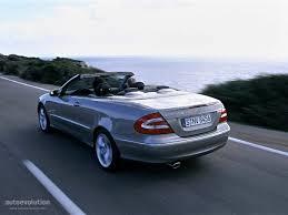 MERCEDES BENZ CLK Cabrio (A209) specs - 2003, 2004, 2005 ...