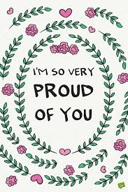 Proud Of You Quotes Inspiration I Am Proud Of You Quotes