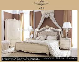 Luxury Royal Neoclassic Solid Wood Bedroom Furniture Perl White Wood Carving Bed - Buy Carved Solid Wood King Beds,Carved White Wooden Beds,Hand ...