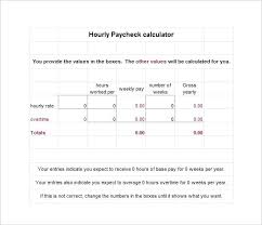 Simple Paycheck Calculator Excel Pay Stub Calculator Excel Paycheck Template Blank Pay Stub