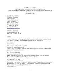 Curriculum Vitae - Department of Art History - Emory University