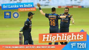 1st T20I Highlights