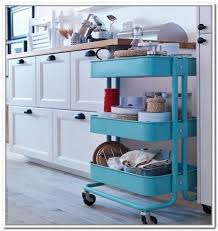 Rolling Storage Cart Ikea
