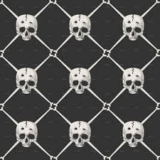 Skull Pattern Amazing Skull Pattern By Bomberclaad GraphicRiver