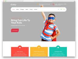 Kids School Website Template 27 Free School Website Templates For Millennial Students 2019