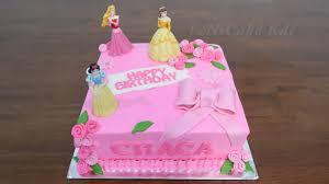 Kue Ulang Tahun Anak Perempuan Terbaru Kue Ultah Karakter Princes