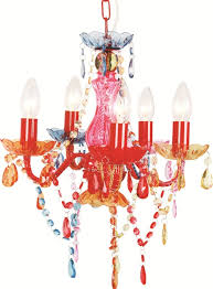 multi colored gypsy chandeliers in best and newest 5 light multi coloured gypsy crystal chandelier ceiling