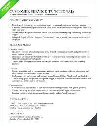 Resume Summary Examples For Customer Service Examples Resume Summary