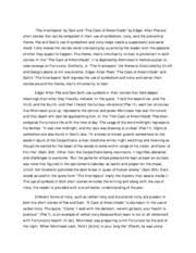 la paper essay the interlopers by saki and the cask of la paper essay the interlopers by saki and the cask of amontillado by edgar allan poe are short stories that can be compared in their use of symbolism