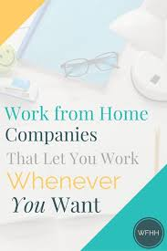 9c f4e550bb8b53b7ea83be0ae work from home panies work today