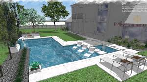 Public Swimming Pool Design A Modern Swimming Pool Design For A Houston Client By Randy Angell