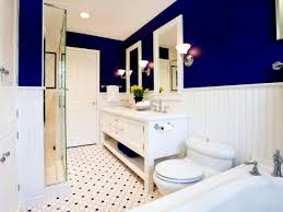 blue and pink bathroom designs. Outfit White And Dark Blue Walls - Bathroom Design 21 Colorful Designs Stylish Ideas Pink A