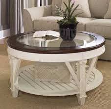 white painted wood coffee table elegant white wood round coffee table with glass top