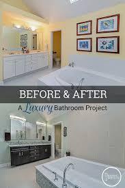 Bathroom Remodeling Naperville Fascinating Before After A Luxury Bathroom Remodel Home Remodeling