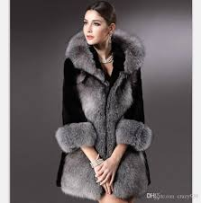 2018 winter women plus size faux fur coat fashion long jackets whole silver fox fur coat las outwear for women from crazy931 115 58 dhgate com