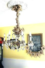 cord cover for chandelier burlap chain and do it your uk la