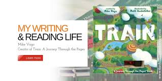 gift books the childrens book review my writing and reading life mike vago creator of train a journey through the pages