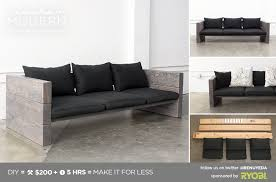 homemade modern ep70 outdoor sofa in diy wood design 4