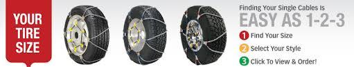 Super Z Tire Chain Size Chart Scc Z Tire Chains