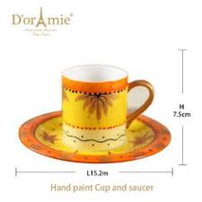 Decorative Cup And Saucer Holders Decorative Drinking Cup Of CoffeeDesign Mug For GiftGrace Tea 26