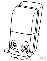 eraser clipart black and white. click the erica eraser shopkin clipart black and white