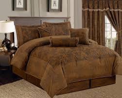 image of great brown bedding set