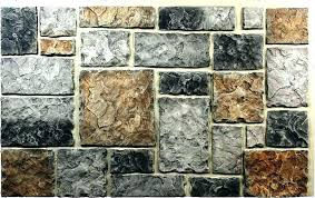 exterior stone wall panels faux fireplace coverings interior exterio