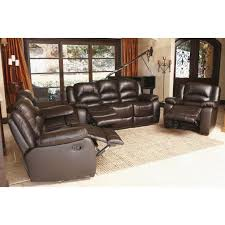 large size of verona topgrain leather reclining sofa loveseat and chair set sams club power sets