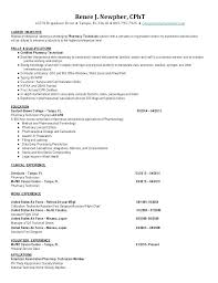 Pharmacy Technician Resume Objectives Here Are Example Images