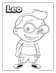 Little Einsteins Coloring Pages Free Printables
