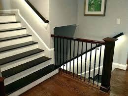 stair lighting led handrail staircase lighting using led strip lights indoor stair lighting stair lighting