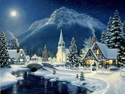 christmas town wallpaper. Exellent Christmas Christmas Village Wallpapers Intended Town Wallpaper Cave