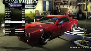 Gta V Muscle Car Customization Xbox Youtube