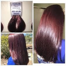 Ion Semi Permanent Color Chart Ion Color Brilliance Brights Semi Permanent Hair