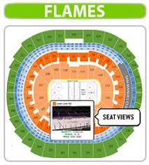 Calgary Flames Seating Chart Hockey Game