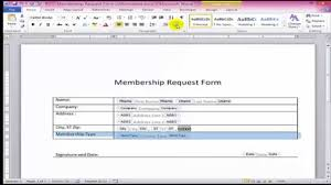 Forms For Word How to create fillable forms in Word YouTube 1