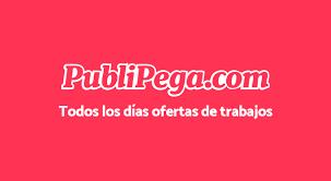 Logo PubliPega, trabajos remotos