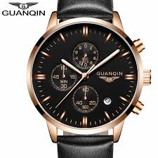top 10 watches for men reviews online shopping top 10 watches mens watches top brand luxury guanqin men military sport luminous wristwatch chronograph leather quartz watch relogio masculino