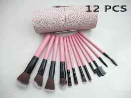 beauty makeup mac brush set 12