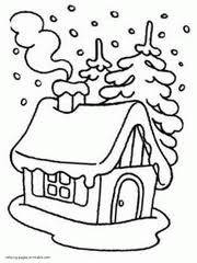 I think your kids will have fun while coloring the winter forest with you. Winter Coloring Pages Free Printable Winter Scene Sheets