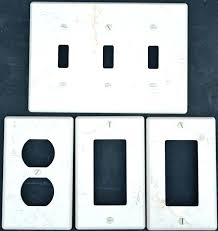 covers porcelain ceramic switch plates and receptacle light brushed nickel wall home depot home depot wall
