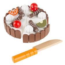Hey Play Pretend Play Birthday Cake Set Hw3300105 The Home Depot