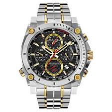 men s watches for jewelry watches jcpenney bulova® precisionist mens two tone stainless steel chronograph watch 98b228