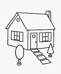 Small Picture House Coloring Pages