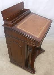 antique style gany davenport las writing desk sold