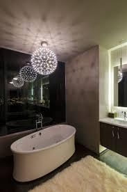 bathroom lighting pendants. trendy pendants that bring textural and geometric beauty bathroom lighting