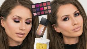 in today s video i m showing you how to create this glamorous fall inspired makeup look i got to play with and review some of the new exciting